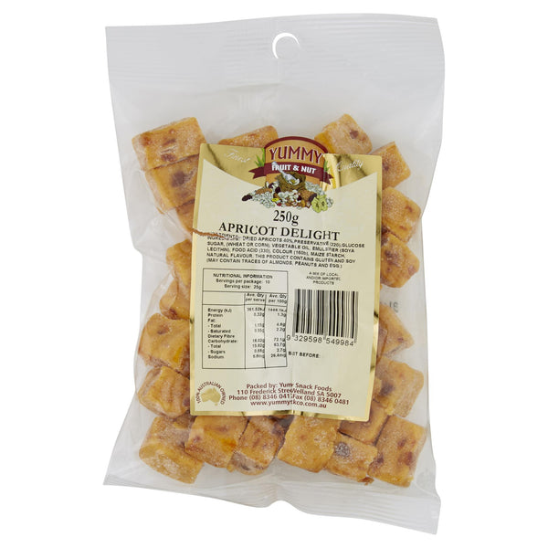 Yummy Apricot Delight 250g , Grocery-Nuts - HFM, Harris Farm Markets