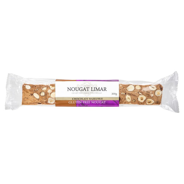 Nougat Limar Chocolate Hazelnut Nougat 300g , Grocery-Confection - HFM, Harris Farm Markets  - 1