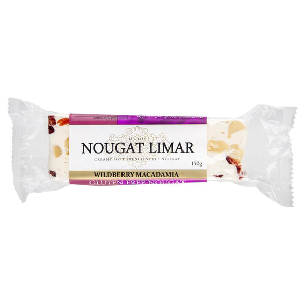 Nougat Limar Wild Berry Macadamia 150g , Grocery-Confection - HFM, Harris Farm Markets  - 1
