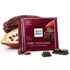 Ritter Sport - Chocolate Dark - 50 Percent Cacao (100g)