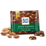 Ritter Sport - Chocolate Milk - Whole Almonds (100g)