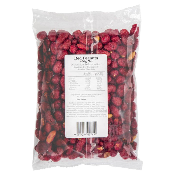 Harris Farm Peanuts Red 400g , Grocery-Confection - HFM, Harris Farm Markets  - 2