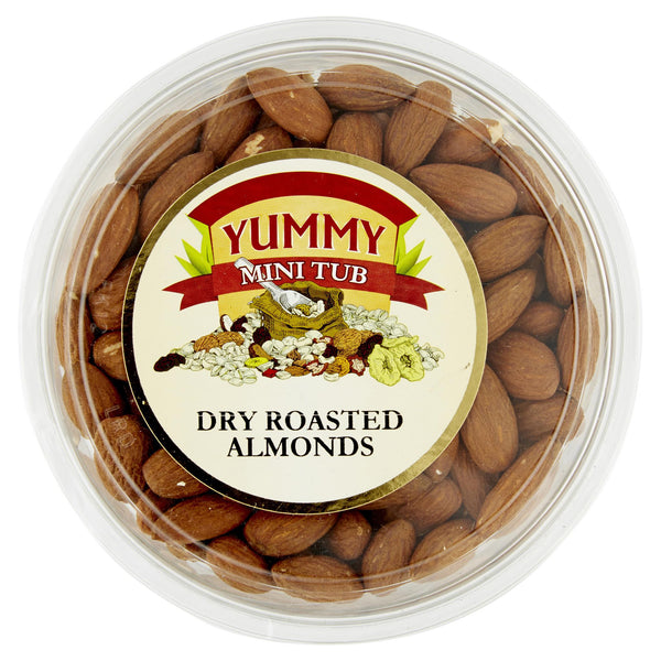 Yummy Almonds Dry Roasted 160g , Grocery-Nuts - HFM, Harris Farm Markets  - 1