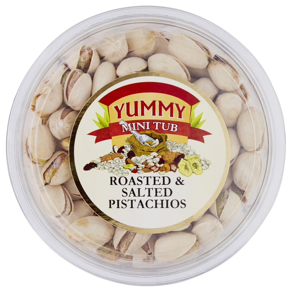 Yummy Pistachios Roasted & Salted 180g , Grocery-Nuts - HFM, Harris Farm Markets  - 1