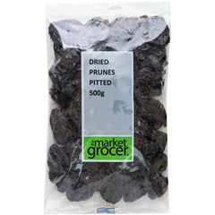 The Market Grocer - Dried Prunes Pitted (500g)