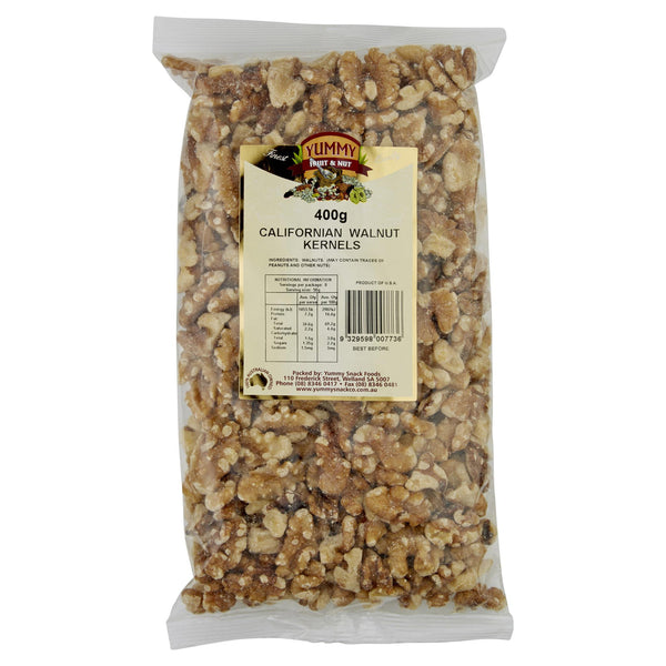 Yummy Walnut Kernels 400g , Grocery-Nuts - HFM, Harris Farm Markets