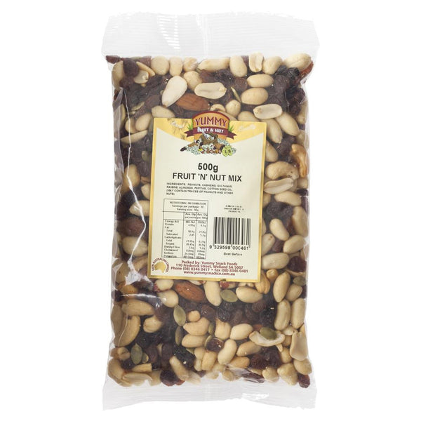 Yummy Fruit & Nut Mix 500g , Grocery-Nuts - HFM, Harris Farm Markets  - 1