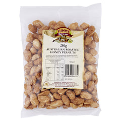 Yummy Peanuts Honey Roasted 250g , Grocery-Nuts - HFM, Harris Farm Markets