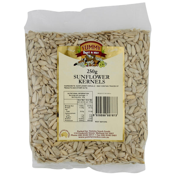 Yummy Sunflower Seeds 250g , Grocery-Nuts - HFM, Harris Farm Markets