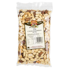 Yummy Mixed Nuts Unsalted 500g , Grocery-Nuts - HFM, Harris Farm Markets  - 1