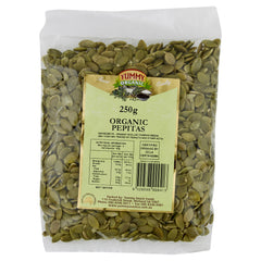 Yummy Organic Pepitas 250g , Grocery-Nuts - HFM, Harris Farm Markets
