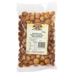 Yummy Macadamias Honey Roasted 400g , Grocery-Nuts - HFM, Harris Farm Markets  - 1
