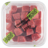 The Market Grocer Strawberry Delights 250g , Grocery-Confection - HFM, Harris Farm Markets  - 2