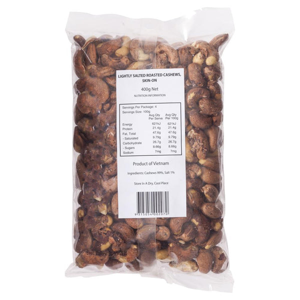 Market Grocer Beer Cashews 400g , Grocery-Nuts - HFM, Harris Farm Markets  - 2