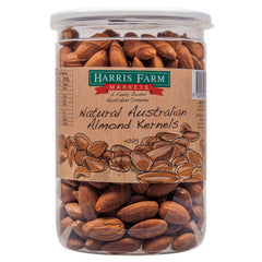 Harris Farm Almonds Raw 400g , Grocery-Nuts - HFM, Harris Farm Markets  - 1