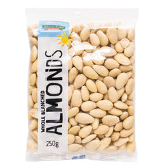 Harris Farm - Almonds Whole Blanched (250g)
