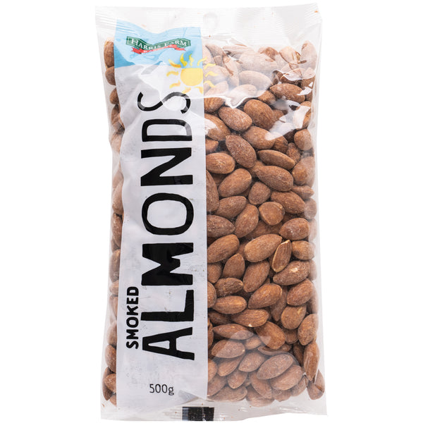 Harris Farm - Almonds Smoked (500g)