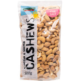 Harris Farm Cashews Roasted and Salted 500g