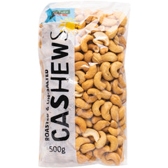 Harris Farm - Cashews - Roasted and Unsalted (500g)