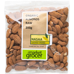 The Market Grocer Almonds Raw Organic | Harris Farm Online