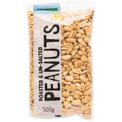 Harris Farm - Peanuts - Roasted and Unsalted (500g)