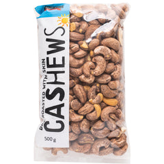 Harris Farm - Cashews Dry Roasted - Skin On (500g)