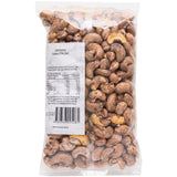 Harris Farm Cashews Dry Roasted Skin On 500g