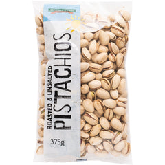 Harris Farm - Pistachios - Roasted and UnSalted (375g)