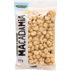 Harris Farm Macadamias Roasted and Salted 350g
