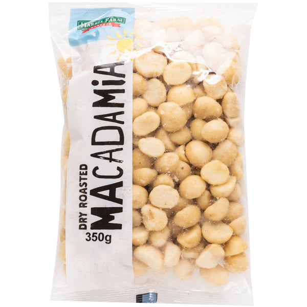 Harris Farm - Macadamias - Dry Roasted (350g)