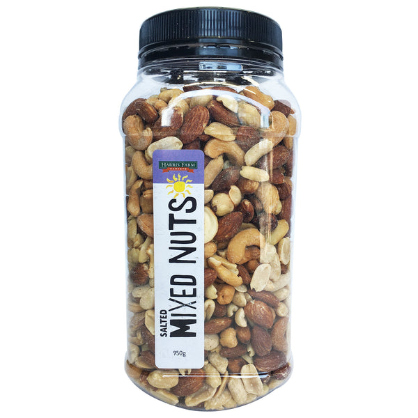 Harris Farm - Mixed Nuts - Salted (950g Tub)
