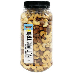 Harris Farm - Nut Mix Trio  - Roasted and Salted (950g Tub)