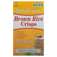 Deligrains Rice Cracker 100g , Grocery-Crackers - HFM, Harris Farm Markets  - 1
