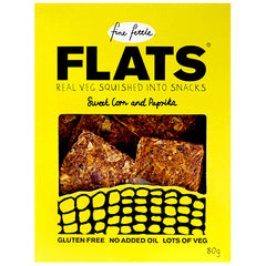 Fine Fettle Flats Sweet Corn and Paprika Crackers | Harris Farm Online
