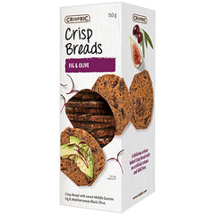 Crispbic - Crisp Breads - Fig and Olive (150g)