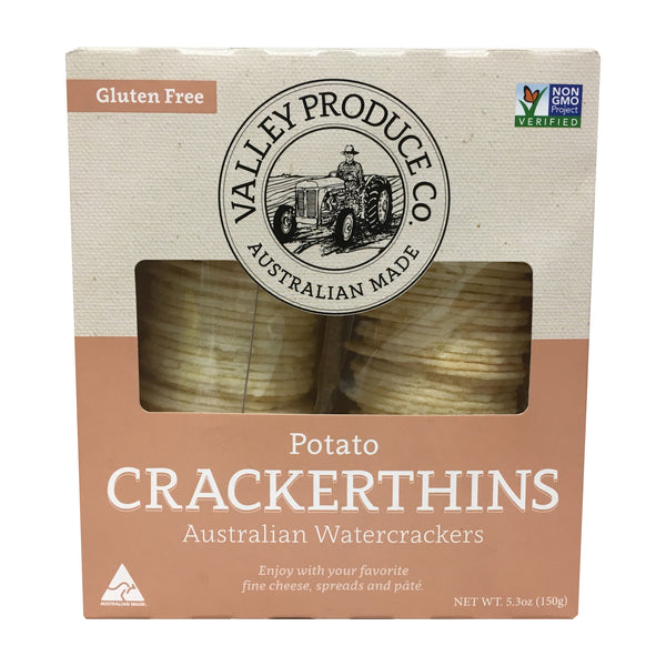 Valley Produce - Biscuits Potato Crackerthins (150g)