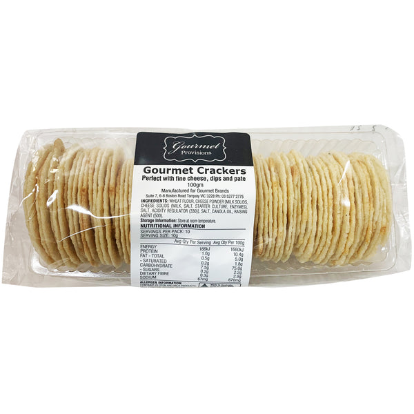 Gourmet Crackers (100g)