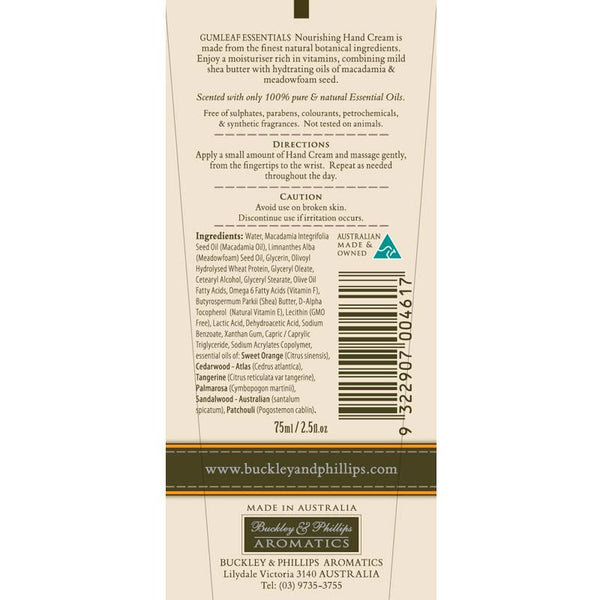 Gumleaf Essentials - Hand Cream - Soothing (75mL)