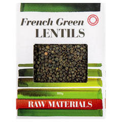 Raw Materials French Green Lentils | Harris Farm Online
