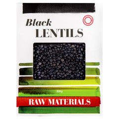 Raw Materials - Black Lentils | Harris Farm Online