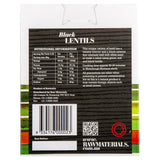 Raw Materials Black Lentils 500g , Grocery-Dry Goods - HFM, Harris Farm Markets  - 2