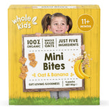 Whole Kids Organic Mini Bites Oat and Banana | Harris Farm Online