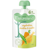 NZ Natureland Vegetables, Chicken and Pasta 6+ Months 120g