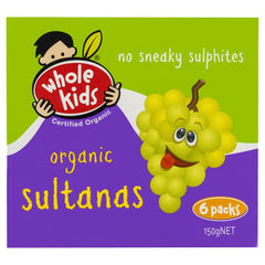 Whole Kids Organic Sultanas 150g , Grocery-D_Fruit - HFM,   - 1