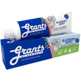 Grants Blueberry Burst Kids Natural Toothpaste Fluoride Free | Harris Farm Online