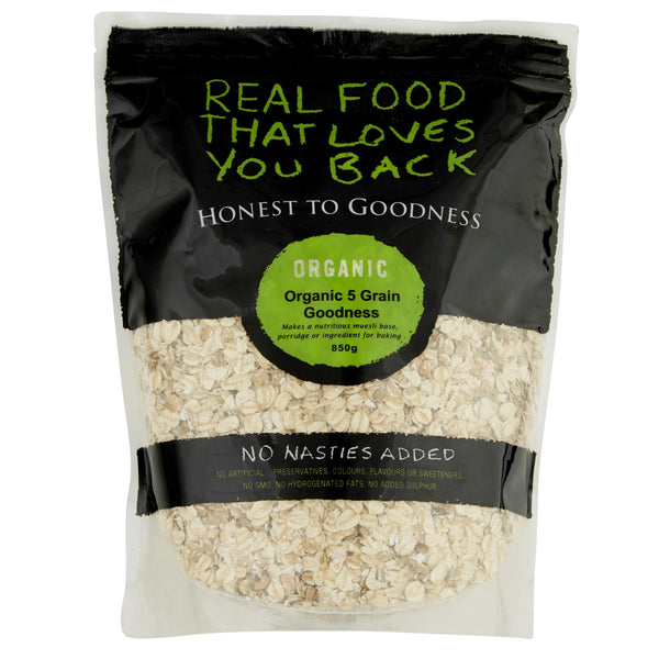 Honest Muesli 5 Grain 850g , Grocery-Breakfast - HFM, Harris Farm Markets  - 1