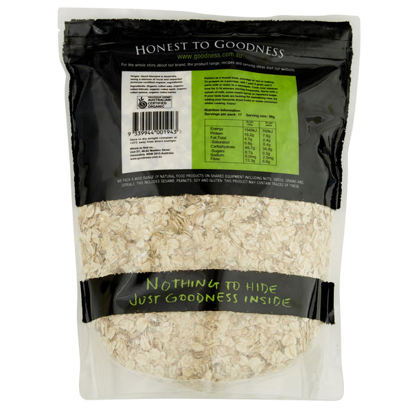 Honest Muesli 5 Grain 850g , Grocery-Breakfast - HFM, Harris Farm Markets  - 2