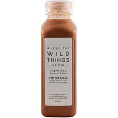 Where The Wild Things Grow - Superfood Smoothies - Nuts for Cacao | Harris Farm Online