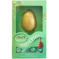 Lindt Milk Egg and Lindor Milk Mint 143g