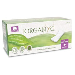 Organyc - Panty Liners - Organic Cotton Flat (24 Pieces)